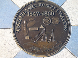 Robert J Walker Commemorative Marker